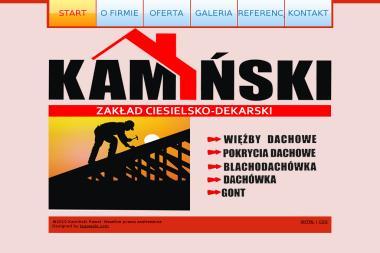 Zakład Ciesielsko - Dekarski Kamiński Paweł - Odśnieżanie dachów Brodnica