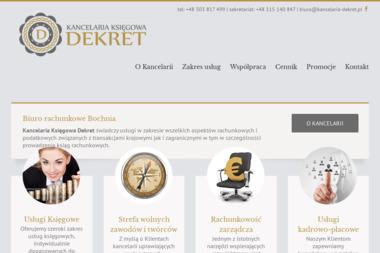 Kancelaria Księgowa DEKRET - Biuro rachunkowe Bochnia