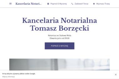 Kancelaria notarialna Tomasz Borzęcki - Notariusz Stalowa Wola