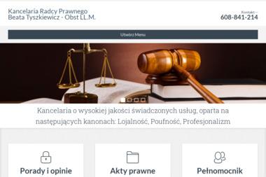 Kancelaria Radcy Prawnego Beata Tyszkiewicz - Obst LL.M. - Odzyskiwanie Długów Pełczyce