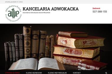 Kancelaria Adwokacka Dawid Wituśiński - Adwokat Ostrołęka