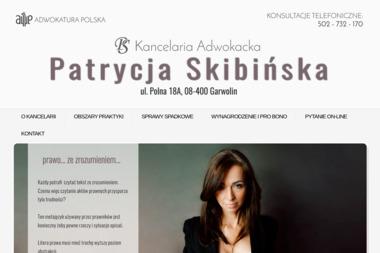 Kancelaria Adwokacka Adwokat Patrycja Skibińska - Windykacja Garwolin