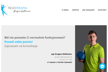 FIZJOTERAPIA mgr Grzegorz Kiełkiewicz - Rehabilitanci medyczni Piotrków Trybunalski