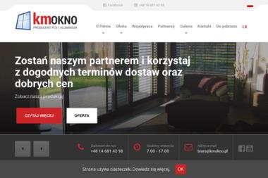 KM OKNO S.C. - Stolarka Aluminiowa Czarna