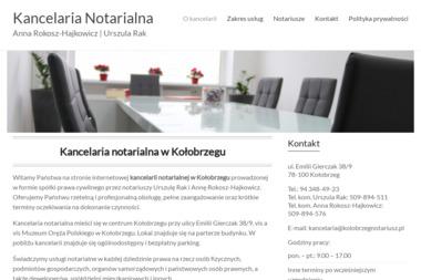 Kancelaria Notarialna - Anna Rokosz, Urszula Rak - Kancelaria Prawna Kołobrzeg