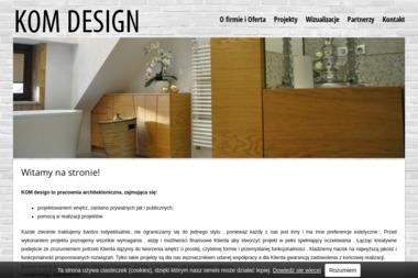 KOM design - Architekt wnętrz Radom