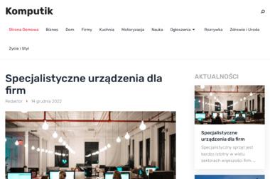 KOMPUTIK - Agencja Interaktywna - Support IT - Strony Internetowe - Strony WWW Jaworzno