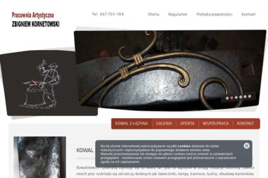 Zbigniew Kornetowski - Ogrodzenia kute Dobrzejewice