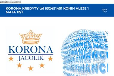 KORONA-JACOLIK - Doradcy Kredytowi Konin