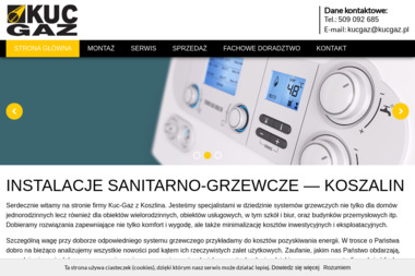 Kuc-Gaz - Usługi Gazownicze Koszalin