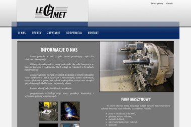 Firma LECHMET - Tokarz Mielec