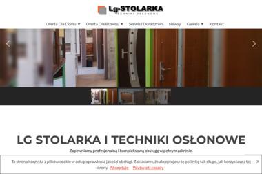 LG - STOLARKA I TECHNIKI OSŁONOWE - Okna Drewniane Końskie