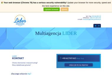 Multiagencja LIDER - Ubezpieczenie samochodu Nowy Targ