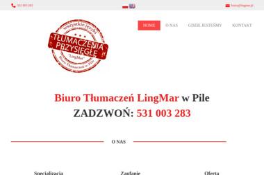 Biuro Tłumaczeń LingMar - Tłumacz Języka Angielskiego Piła