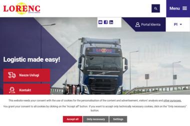 Lorenc Logistic Polska Sp. z o.o. - Transport międzynarodowy Włocławek