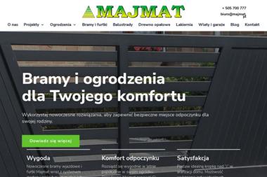 Ogrodzenia/Usługi leśne Majmat - Płot z Drewna Sierakowice Prawe