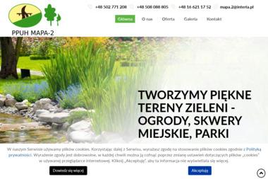 """P.P.U.H.""""MAPA-2"""" - Projektowanie ogrodów Jarosław"""