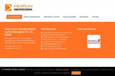 MERITUM Ubezpieczenia - Ubezpieczenia Grupowe Dla Pracowników Białystok