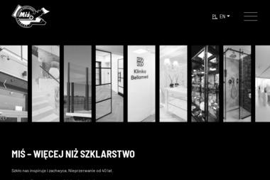 """Zakład Szklarski """"MIŚ"""" & Galeria Art-Miś - Szklarz Elbląg"""
