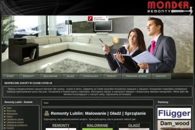 MONDER - REMONTY - Sprzątanie Świdnik