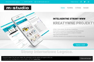 M-Studio - Strony internetowe Legnica