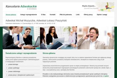Kancelarie Adwokackie - adwokat Michał Muzyczka - Adwokat Jarosław