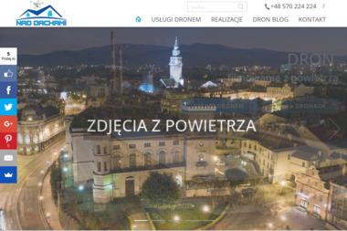 Nad dachami - filmowanie z powietrza usługi dronem - Kamerzysta Bielsko-Biała