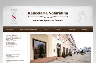 Kancelaria Notarialna - Notariusz Agnieszka Gomuła - Notariusz Radom