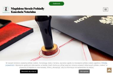 Kancelaria notarialna - Sieradz-Podsiadły Magdalena - Usługi Prawnicze Grodzisk Mazowiecki