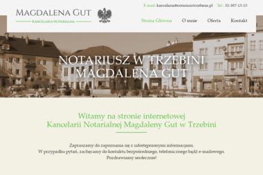 Kancelaria Notarialna Magdalena Gut - Notariusz Trzebinia