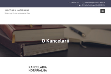 Kancelaria Notarialna - Katarzyna Zemła - Kancelaria prawna Ełk