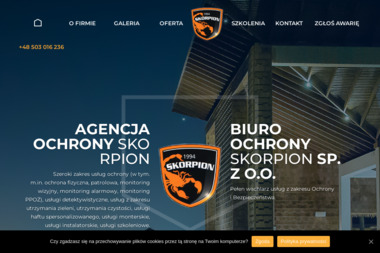 Agencja Ochrony Skorpion - Agencja ochrony Ostróda