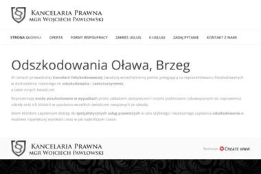 Kancelaria Prawna mgr Wojciech Pawłowski - Windykacja Oława