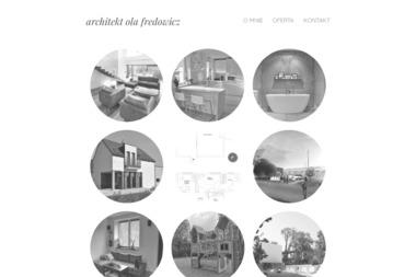 ARCHITEKT OLA FREDOWICZ - Architekt wnętrz Sosnowiec