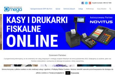 Omega Systemy Komputerowe - Serwis sprzętu biurowego Piotrków Trybunalski