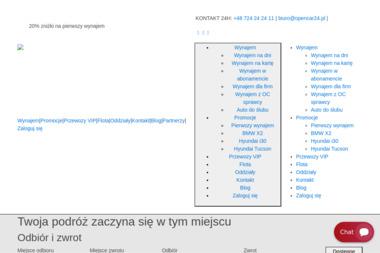 OpenCar24 - Wypożyczalnia samochodów Lubin