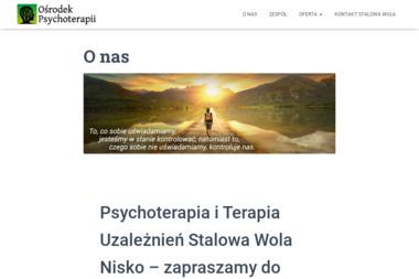 Ośrodek Psychoterapii Stalowa Wola - Psycholog Stalowa Wola