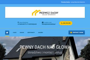 Picewicz - Usługi Dekarskie - Obróbki blacharskie Białystok