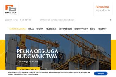 Pierzak Budownictwo - Firma Zbrojarska Radomsko