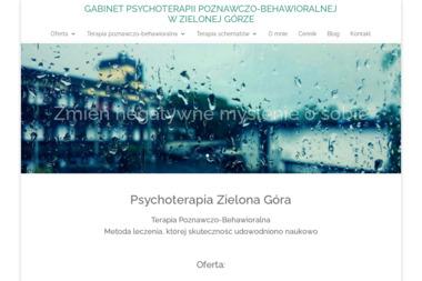 Gabinet Terapii Poznawczo-Behawioralnej Olga Bartosik - Psycholog Zielona Góra