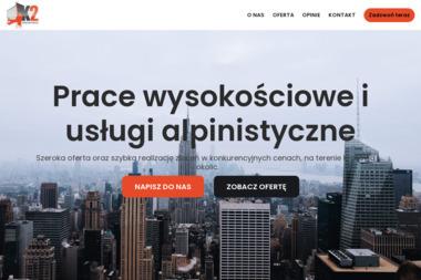 """DARIUSZ ZIOBROŃ """"K-2"""" - USŁUGI WYSOKOŚCIOWE I REMONTOWO-BUDOWLANE - Alpinizm Przemysłowy Kraków"""