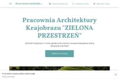 """Pracownia Architektury Krajobrazu """"ZIELONA PRZESTRZEŃ"""" - Projektowanie Ogrodów Turek"""