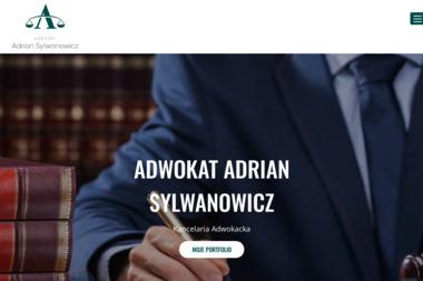 Kancelaria Adwokacka Adwokat Adrian Sylwanowicz - Obsługa prawna firm Białystok