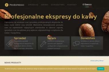 Proespresso - Ekspresy do Kawy Łódź