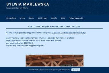 Specjalistyczny gabinet psychiatryczny Sylwia Marlewska - Pomoc Psychologiczna Biłgoraj
