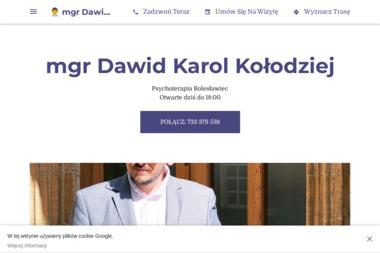 Psycholog mgr Dawid Karol Kołodziej - Psycholog Bolesławiec