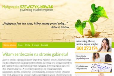 Gabinet Psychologiczny Małgorzata Szewczyk-Nowak - Psycholog Chodzież