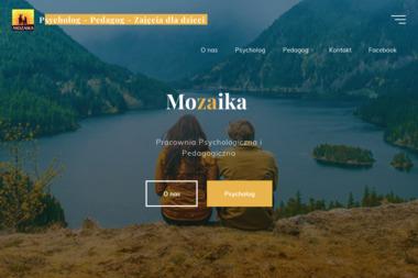 MOZAIKA - Pracownia psychologiczna i pedagogiczna - Psycholog Dzierżoniów