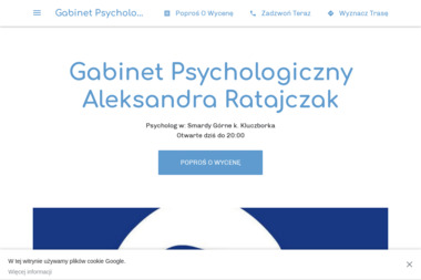 Gabinet Psychologiczny Aleksandra Ratajczak - Psycholog Smardy Górne