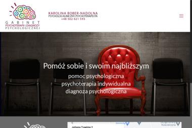 GABINET PSYCHOTERAPII I DIAGNOZY PSYCHOLOGICZNEJ Karolina Bober-Nadolna - Psycholog Kościerzyna